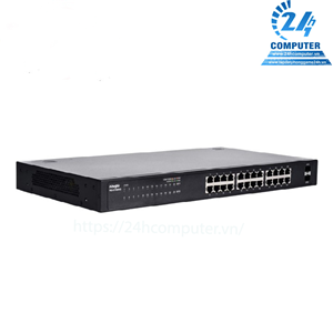 24-port 10/100/1000 Base-T Unmanaged Switch RUIJIE RG-S1826G