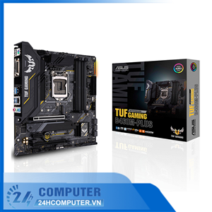 Bo mạch Mainboard ASUS TUF GAMING B460M-PLUS Intel B460, Socket 1200
