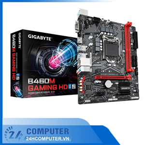 Mainboard Gigabyte B460M GAMING HD 2 khe RAM DDR4