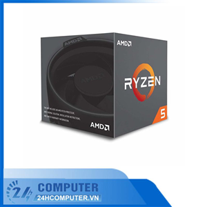 CPU AMD Ryzen 5 2600X (3.6GHz turbo up to 4.2GHz, 6 nhân 12 luồng, 16MB Cache, 95W) - Socket AMD AM4
