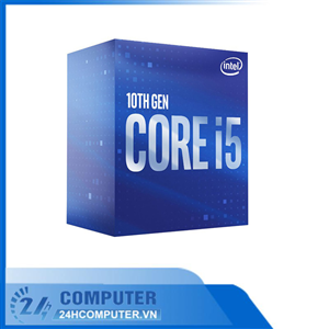 CPU Intel Core i5-10400F (2.9GHz turbo up to 4.3Ghz, 6 nhân 12 luồng, 12MB Cache, 65W) - LGA 1200