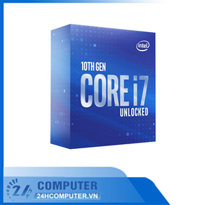 CPU Intel Core i7-10700K (3.8GHz turbo up to 5.1GHz, 8 nhân 16 luồng, 16MB Cache, 125W) - Socket Int