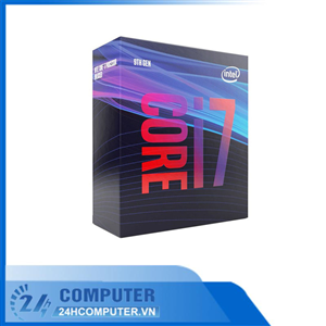CPU Intel Core i7-9700F (3.0GHz turbo up to 4.7Ghz, 8 nhân 8 luồng, 12MB Cache, 65W) - Socket Intel