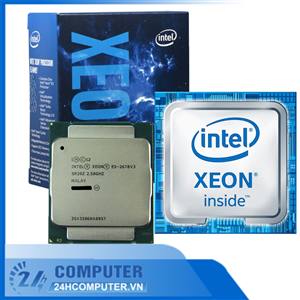 CPU Intel Xeon Processor E5-2678v3 2.50GHz 30M 12Cores 24 Thread