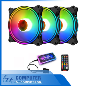 Fan Led Coolmoon RGB M1( Hub+ĐK)