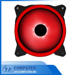 Fan XIGMATEK X12R (EN42487) - RED RING LED