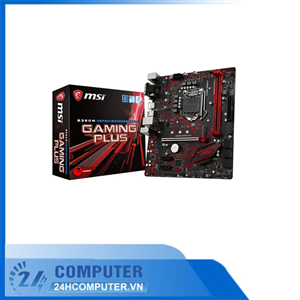 Mainboard MSI B360M GAMING PLUS (Intel B360, Socket 1151, m-ATX, 2 khe RAM DDR4)