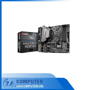 Mainboard MSI B365M Mortar (Intel B365, Socket 1151, m-ATX, 4 khe RAM DDR4)