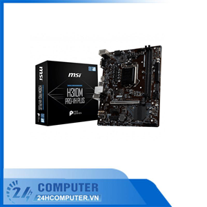 Mainboard MSI H310M PRO - VH Plus (AMD H310, Socket AM4, m-ATX, 2 khe RAM DDR4)