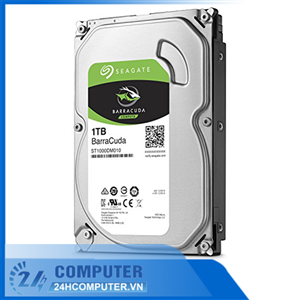 Ổ cứng HDD Seagate 1TB 3.5 inch 7200RPM, SATA3 6GB/s, 64MB Cache