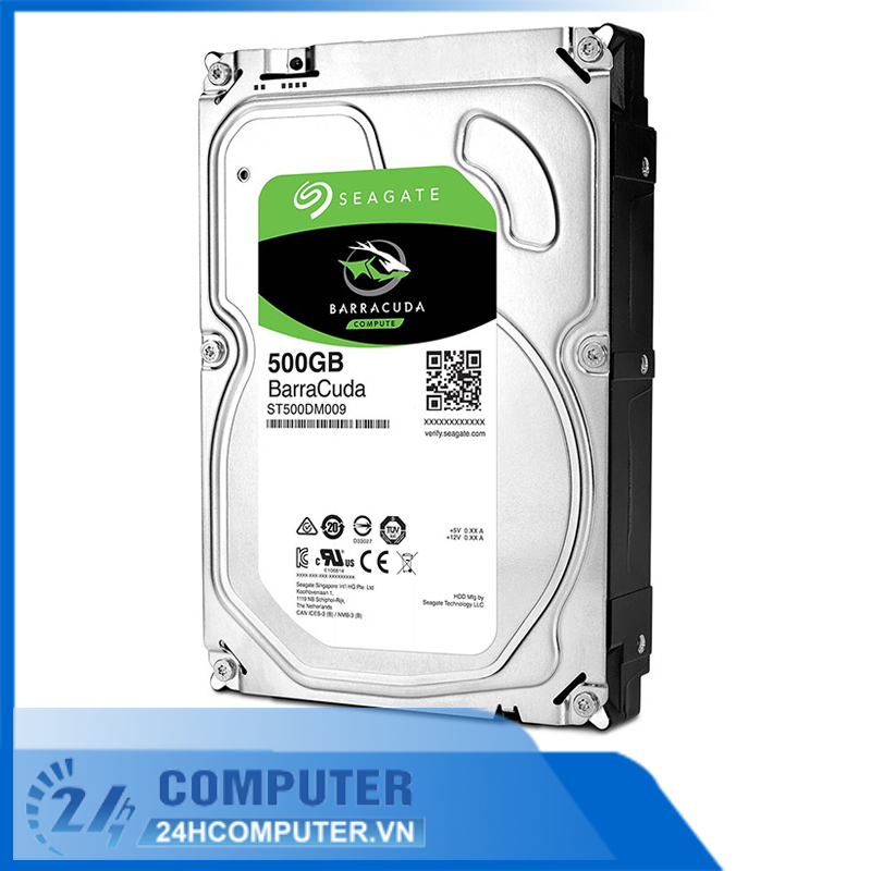 Ổ cứng HDD Seagate 500GB 3.5 inch 7200RPM, SATA3 6GB/s, 16MB Cache