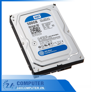 Ổ cứng HDD WD 500GB Blue SATA 32MB Cache