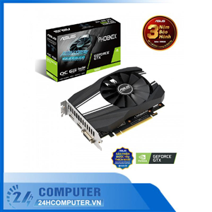 VGA ASUS Phoenix GeForce GTX 1660 6GB GDDR5 (PH-GTX1660-6G)