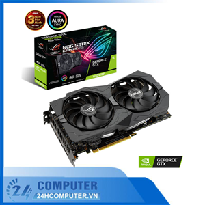 VGA ASUS ROG Strix GeForce GTX 1650 SUPER 4GB GDDR6 (ROG-STRIX-GTX1650S-4G-GAMING)