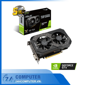 VGA ASUS TUF Gaming GeForce GTX 1660 SUPER 6GB GDDR6 OC edition (TUF-GTX1660S-O6G-GAMING)