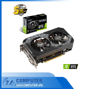 VGA ASUS TUF Gaming GeForce RTX 2060 6GB GDDR6 OC edition (TUF-RTX2060-O6G-GAMING)