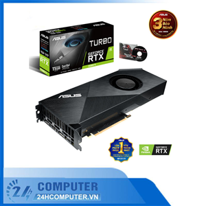 VGA ASUS Turbo GeForce RTX 2080 Ti 11GB GDDR6 (TURBO-RTX2080TI-11G)